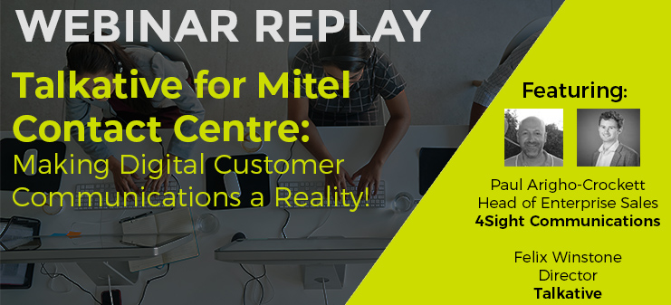 Talkative for Mitel Contact Centre